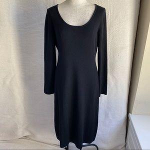 Brooks Brothers L Soft Italian Wool Sweater Dress